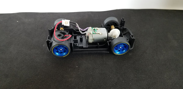 DIY slot car chassis