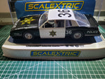 Scalextric Limited Edition C4108 Chevrolet Monte Carlo County Sherriff MRE exclusive Imported by Slotcarspacesolutions