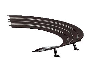 Carrera High Banked Curve 2/30 20575