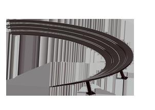 Carrera High Banked Curve 3/30 20576