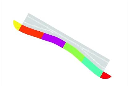 Carrera Chicane for Left or Right ***Traditional Colours Not Rainbow!!*** 20603