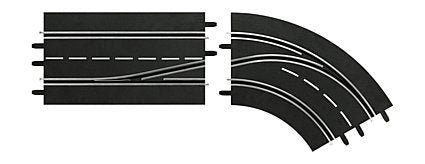 Carrera 30364 Lane Change Curve Right (In to Out) Digital 124/132