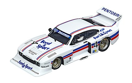 Carrera 30926 Ford Capri Zakspeed Turbo Lili Reisenbichler No.4, Digital 132 w/Lights
