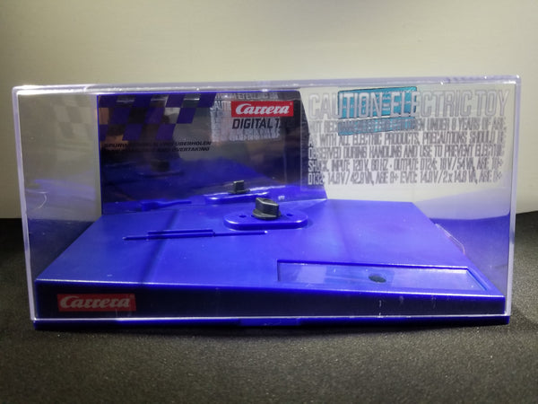 Carrera 1/32 scale car display case NEW comes in digital blue with protective bubble wrap