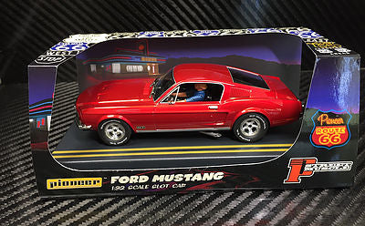 P057 Pioneer Mustang Fastback GT, Candy Red, 'Route 66'