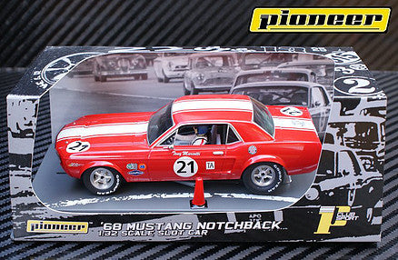 Pioneer '68 Mustang Notchback Coupe P12
