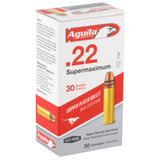 Aguila 22lr Supermax Sp 30gr 50-5000