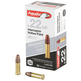 Aguila 22lr Intercpt 40gr Hp 50-5000