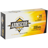 Armscor 308win 147gr Fmj 20-200