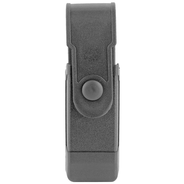 Bh Tac Mag Cs W-flap Sng-dbl Row Blk