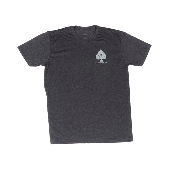 Spike's Tshirt Spades Charcoal Xl