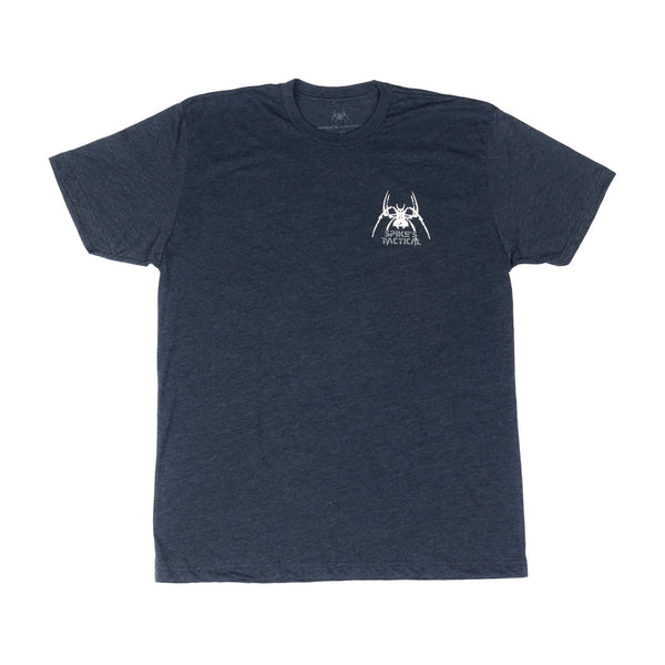 Spike's Tshirt Tac Spider Navy Xl