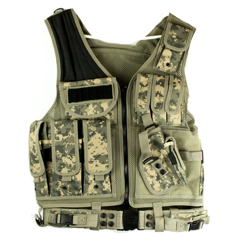 Utg Le Tactical Vest Digital Army