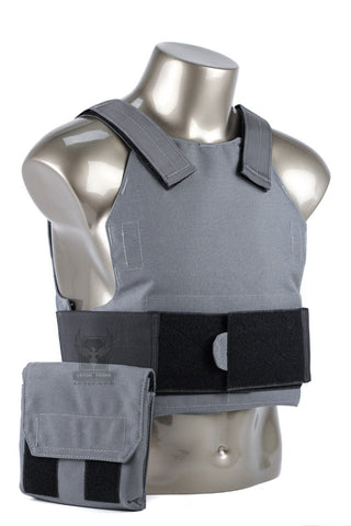 Concealment Plate Carrier w/ Armor - Includes Curved Level III Armor Plates