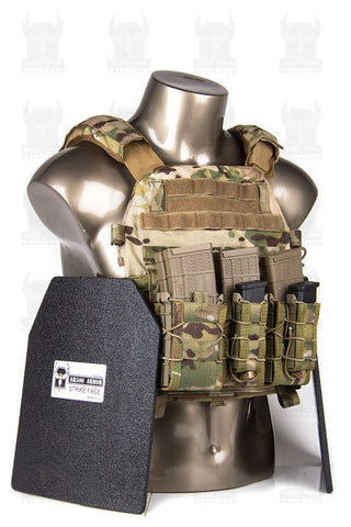Warrior DCS Plate Carrier & Armor Advanced Loadout - MultiCam