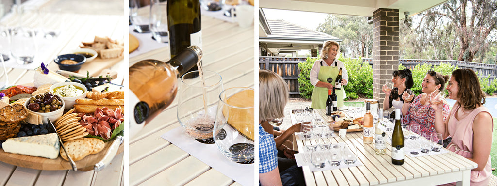 mudge wine tasting experience private with platter