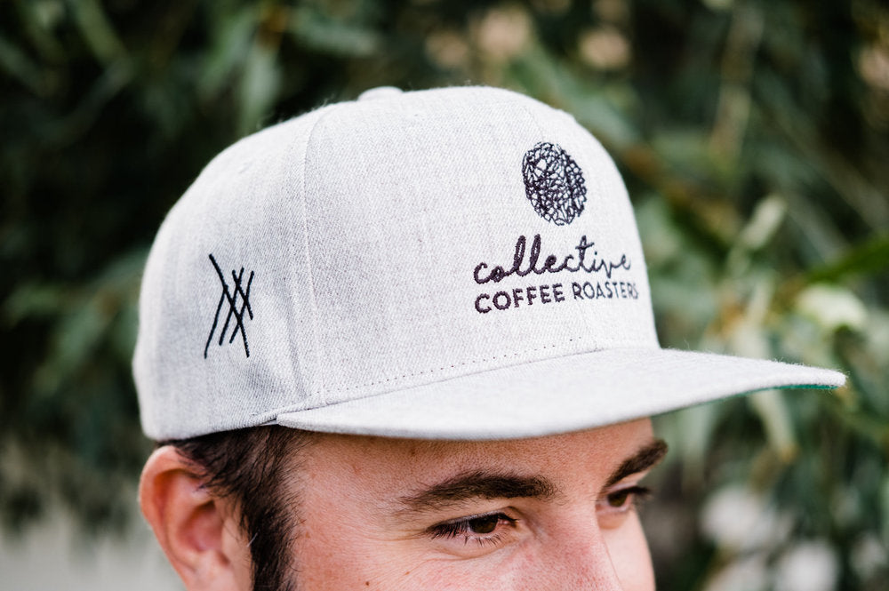 Collective Heather Gray Snap Back