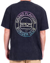 Burger Club Tee Black Acid