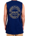 Burger Club Tank Navy