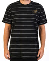 Stripe Tee Black