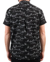 Cactus Button Up Black