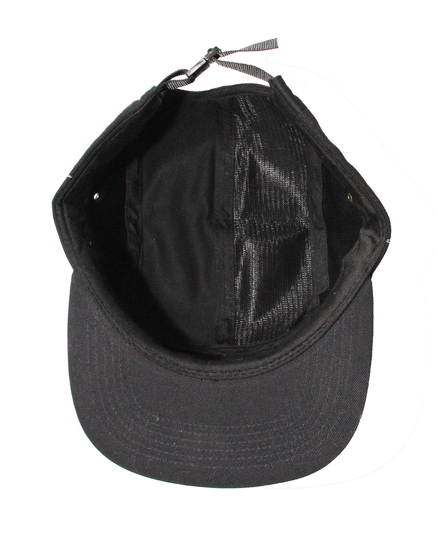Fly the Flag 5 Panel Hat Black