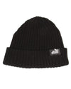 Corrugated Beanie Black
