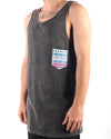 80's Love Acid Tank Black