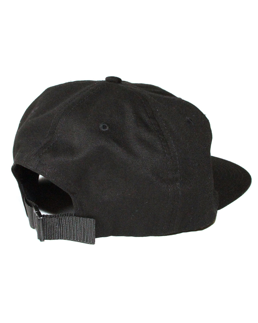 Like Wise Polo Hat Black