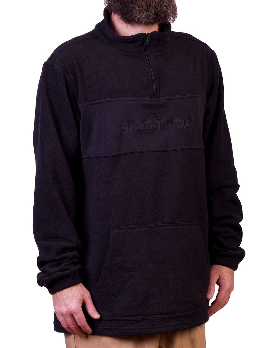 1/4 Zip Polar Crew Black