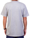 Badge Tee Grey Marle