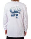 Flag LS Tee White