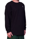 Old Skool Surf LS Tee Black