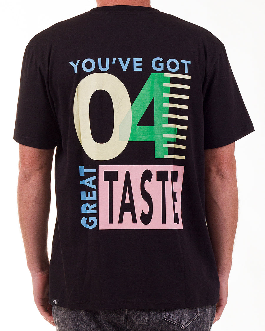 Great Taste tee Black