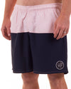 Fresh Air Boardshort Navy/Pink