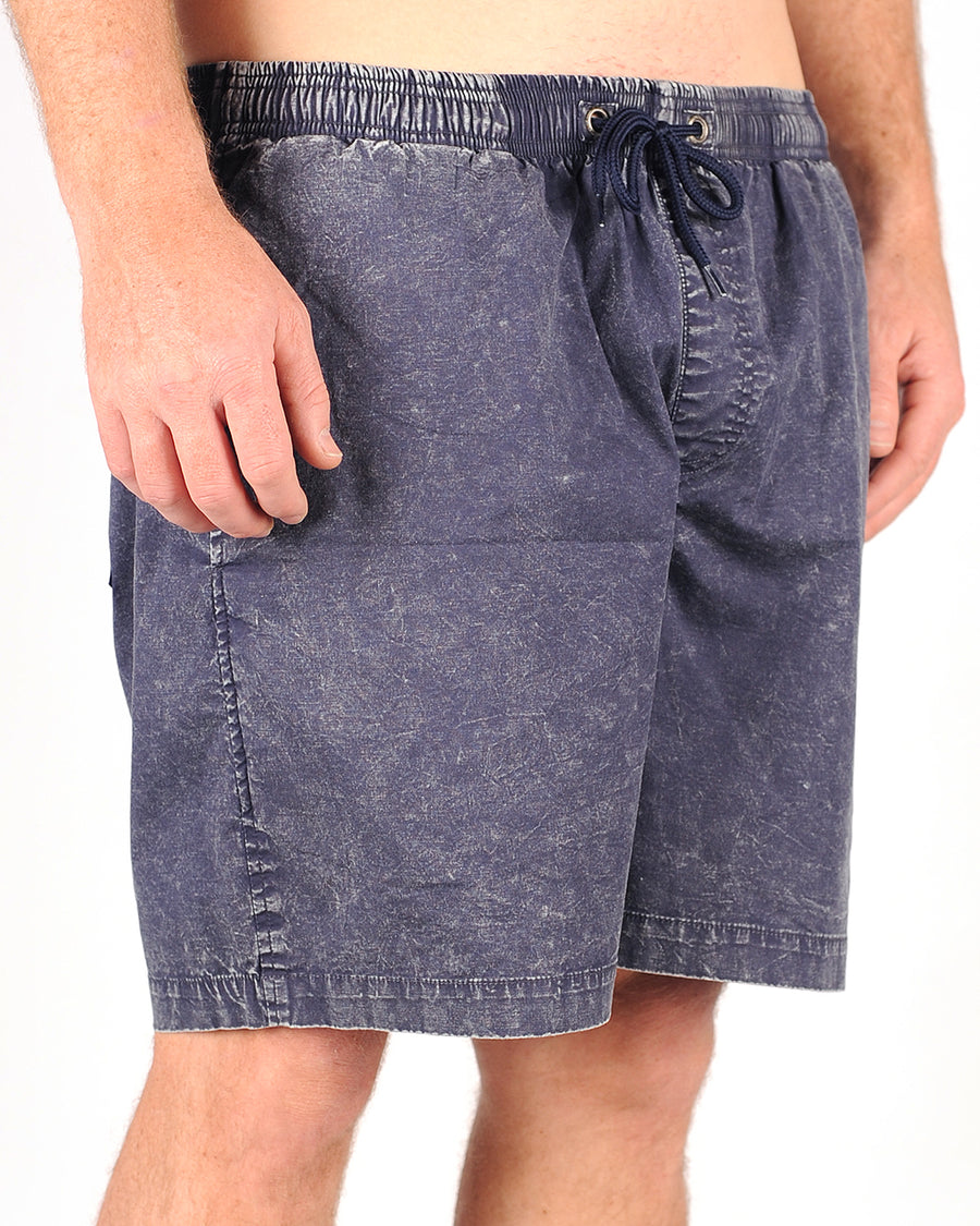 Basic Short Navy Acid