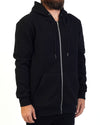 Quilted Hood Black