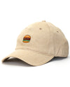 Burger Dad Hat Beige