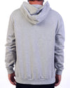 Single File Zip Hood Grey Marl