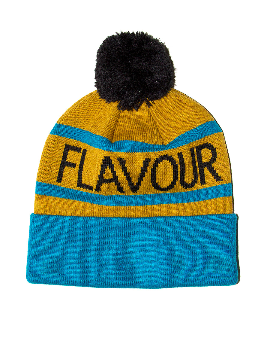 Get Ahead Beanie Marigold/turquoise