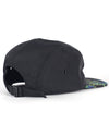 Vacation 5 Panel Hat Black