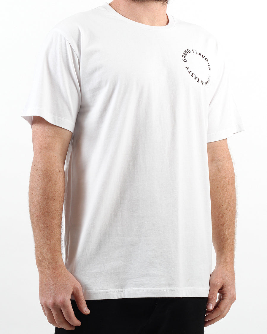 Fresh & Tasty Tee White