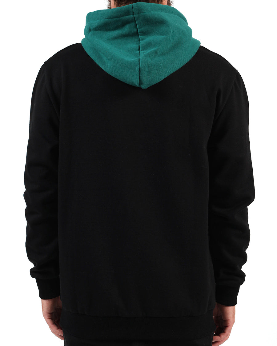 Live Action Hood Black/Green