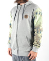 Fully Armed Zip Hood Misty Grey/Camo