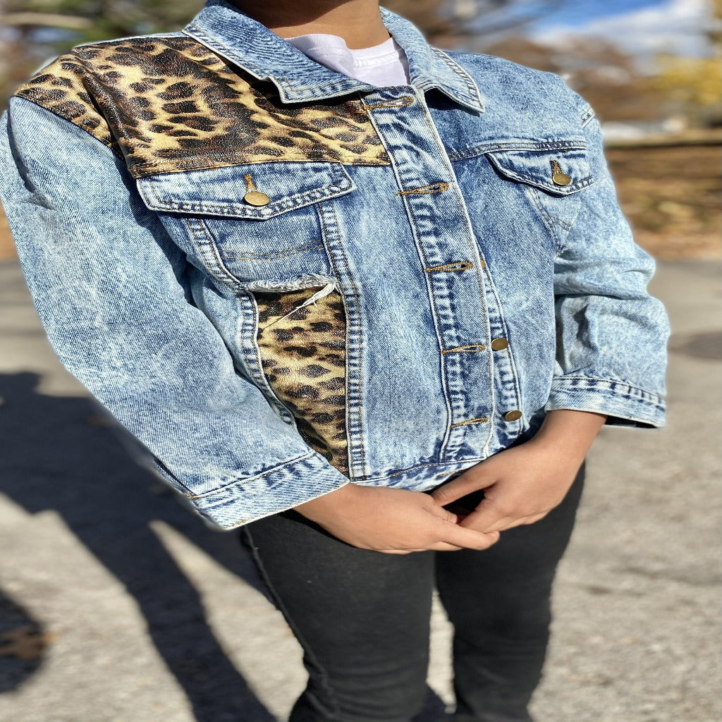 "The ""Leopard Acid"" Jacket 