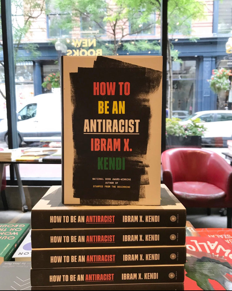 How to be an anti racist Ibram kendi hardcover books