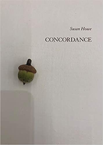 Concordance, by Susan Howe