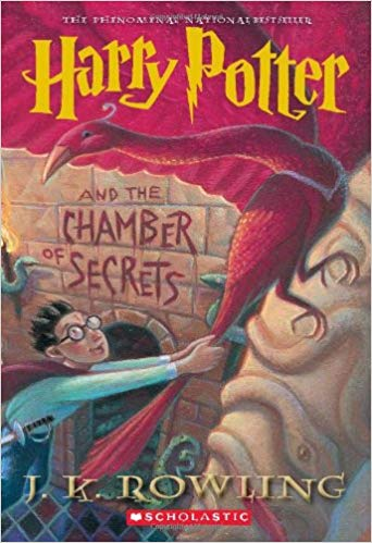 Harry Potter and the Chamber of Secrets, by J.K. Rowling