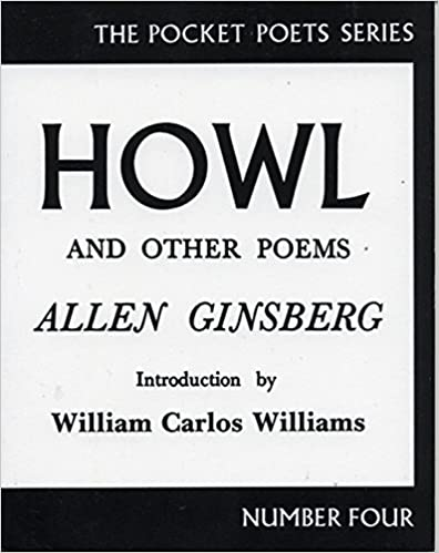 Howl and Other Poems, by Allen Ginsburg