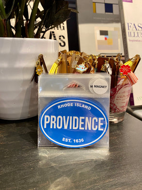 Providence Rhode Island Magnetic Sticker (small)
